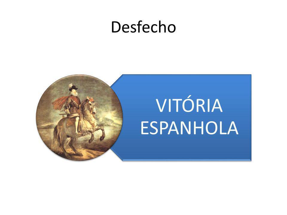 VITÓRIA ESPANHOLA Desfecho