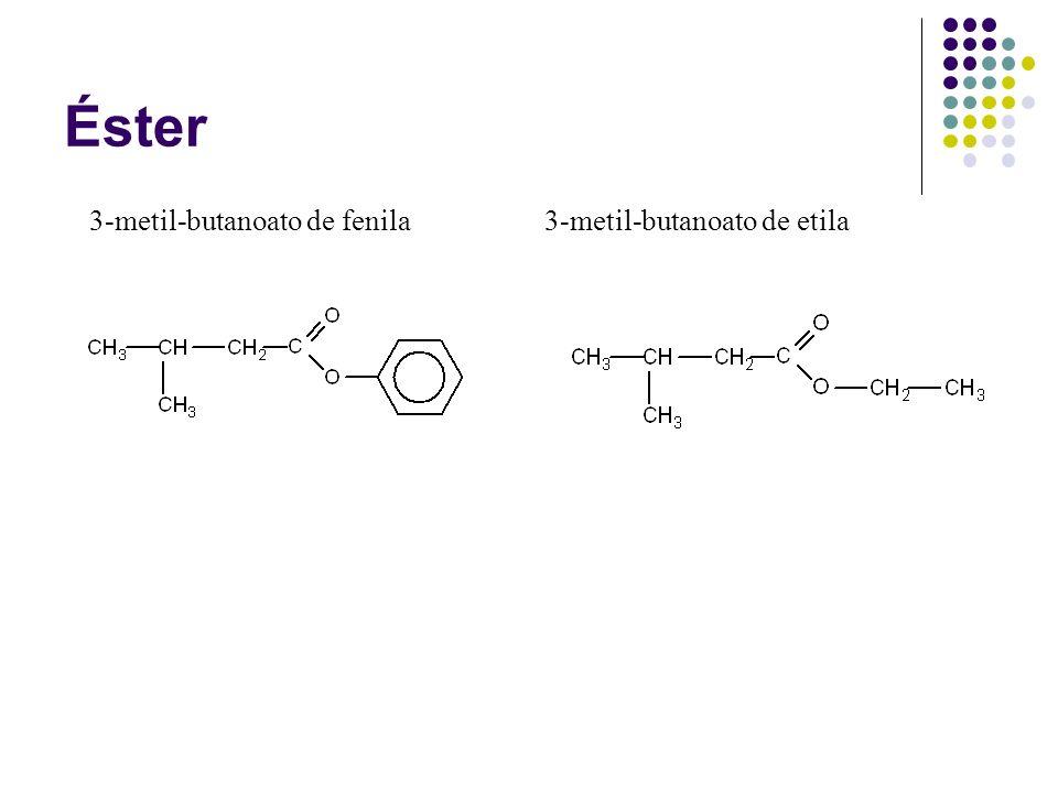 3-metil-butanoato de fenila3-metil-butanoato de etila