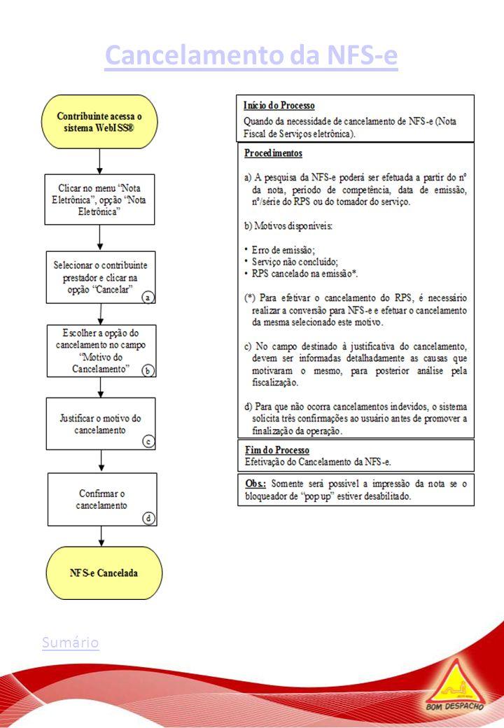 Cálculo de Imposto Diário Sumário