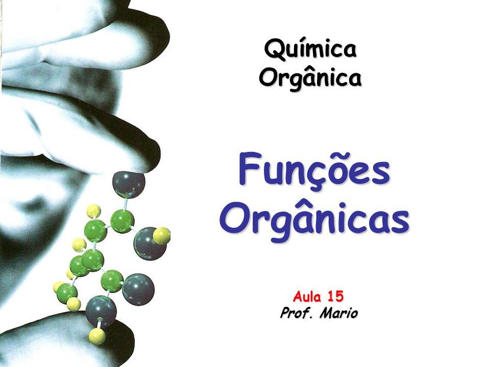 Química Orgânica Funções Orgânicas Aula 15 Prof. Mario