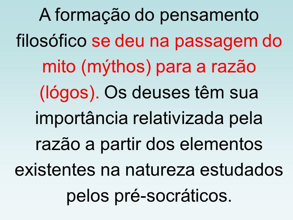 PRIMEIROS FILÓSOFOS