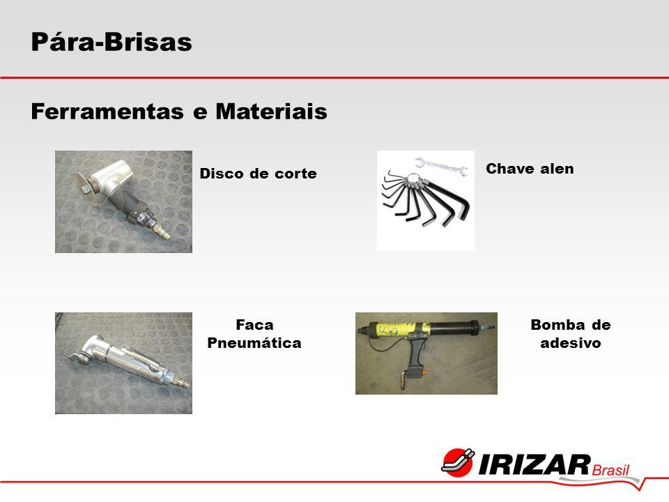 Pára-Brisas Disco de corte Faca Pneumática Chave alen Bomba de adesivo Ferramentas e Materiais