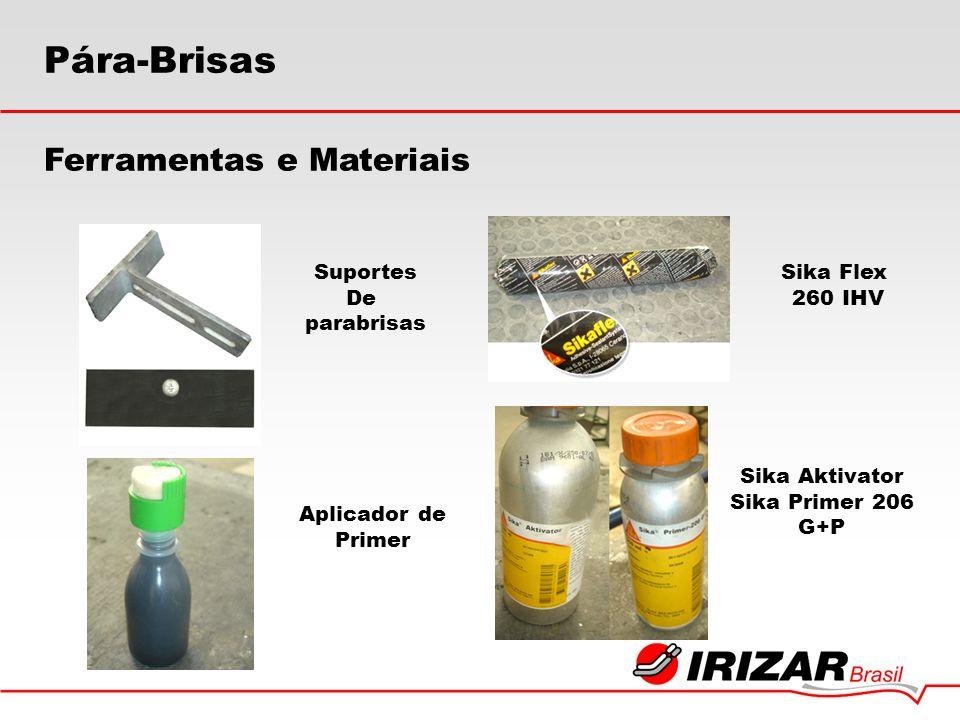 Suportes De parabrisas Aplicador de Primer Sika Flex 260 IHV Sika Aktivator Sika Primer 206 G+P Pára-Brisas Ferramentas e Materiais