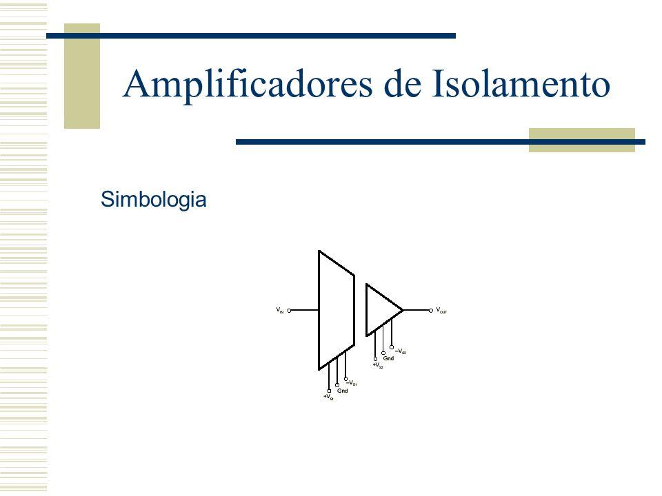 Amplificadores de Isolamento Simbologia