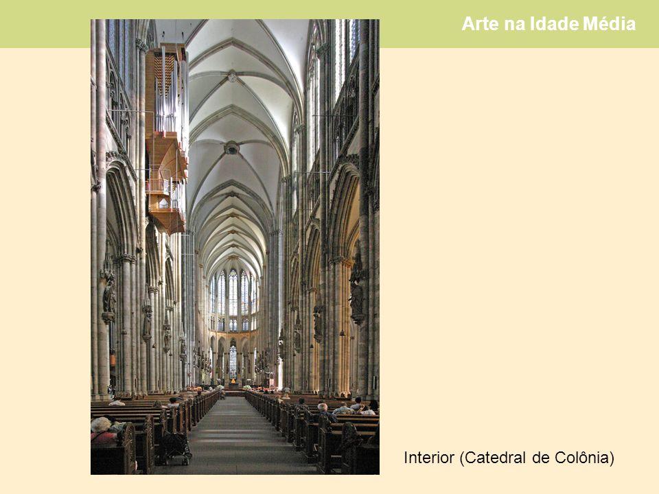 Arte na Idade Média Interior (Catedral de Colônia)