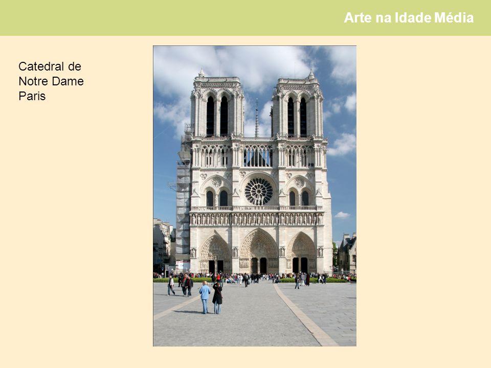 Arte na Idade Média Catedral de Notre Dame Paris
