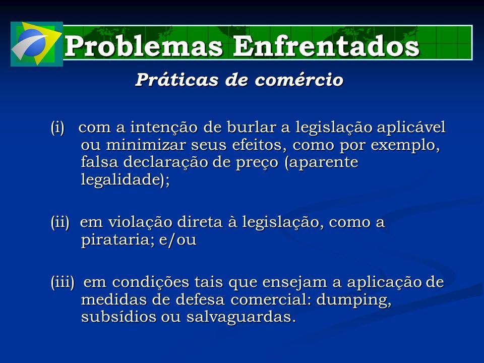 Aspectos Institucionais Aspectos Institucionais CAMEX: CAMEX: DECRETO Nº 4.732, de 2003 (DOU 11.6.2003): dispõe sobre a Câmara de Comércio Exterior - CAMEX, do Conselho de Governo.