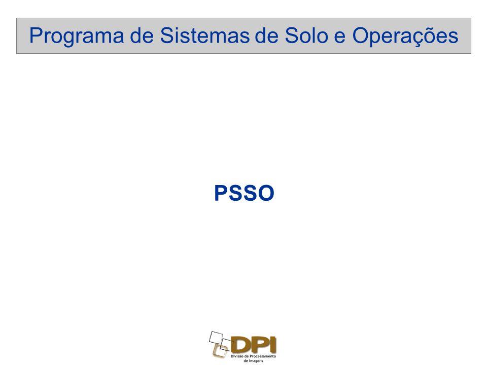 Programa de Sistemas de Solo e Operações PSSO