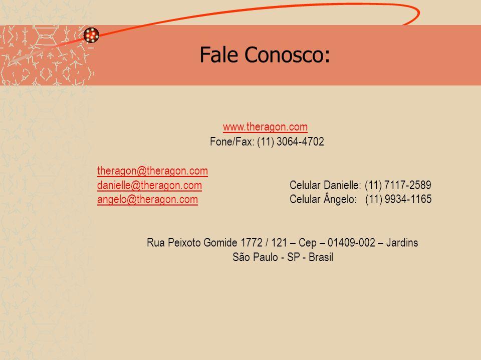 Fale Conosco: www.theragon.com Fone/Fax: (11) 3064-4702 theragon@theragon.com danielle@theragon.comCelular Danielle: (11) 7117-2589 angelo@theragon.co