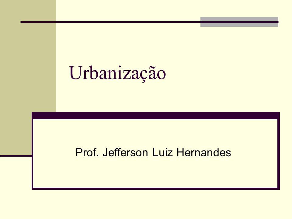 Urbanização Prof. Jefferson Luiz Hernandes