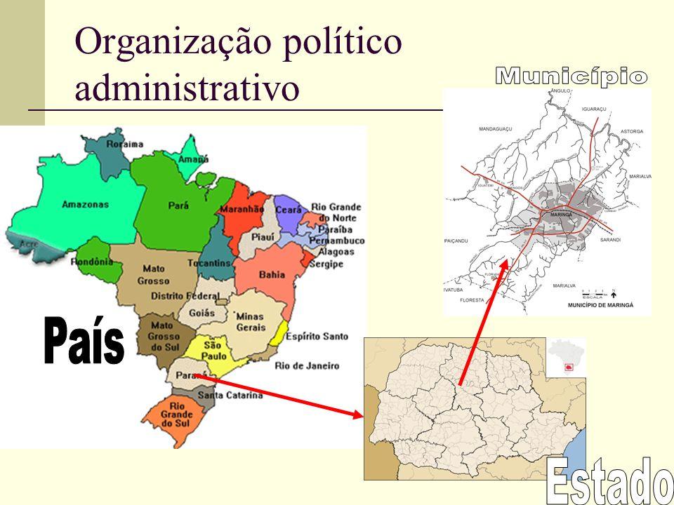 Organização político administrativo