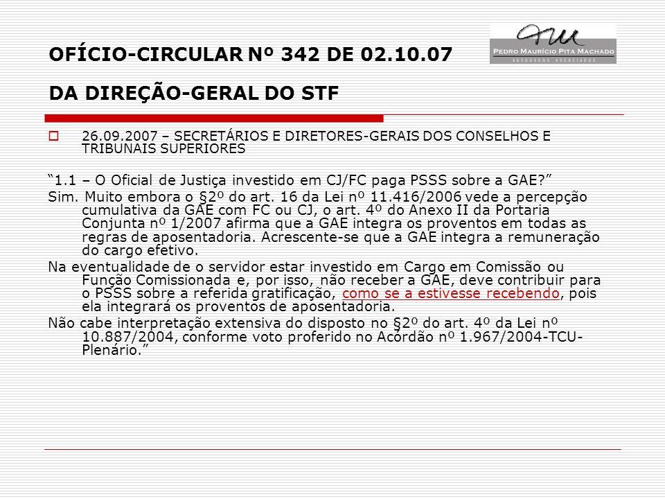 LEI 10.887/2004 – REGIME DE CONTRIBUIÇÃO AO PSSS VEDAÇÃO EXPRESSA À CONTRIBUIÇÃO SOBRE F.C.