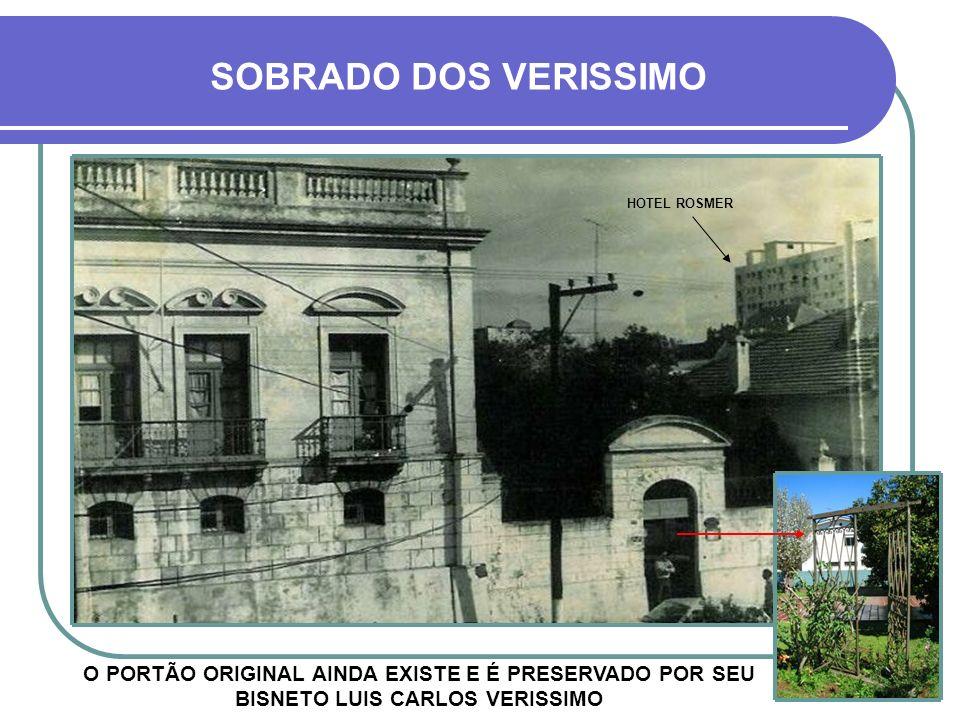 HOJE O PRÉDIO FOI DEMOLIDO NA DÉCADA DE 1990, APÓS O BOATO DE POSSÍVEL TOMBAMENTO