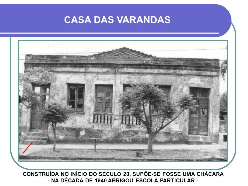 HOJE - RUA BARÃO DO RIO BRANCO DEMOLIDA POR QUESTÃO DE SEGURANÇA E À ESPERA DE MODERNA CONSTRUÇÃO...