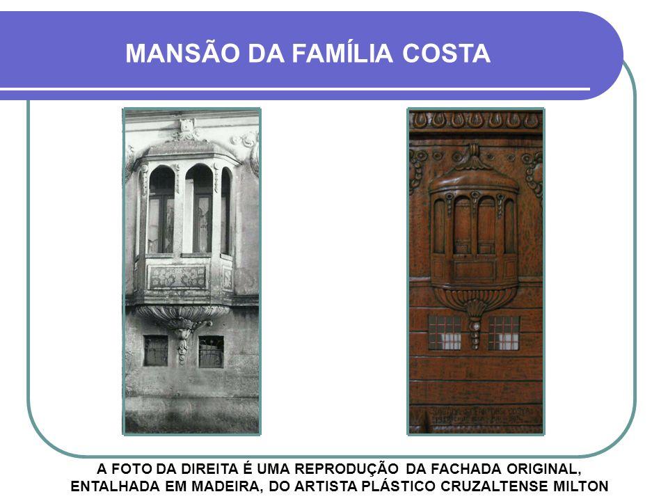 A ESCADARIA TAMBÉM ERA MUITO BONITA MANSÃO DA FAMÍLIA COSTA