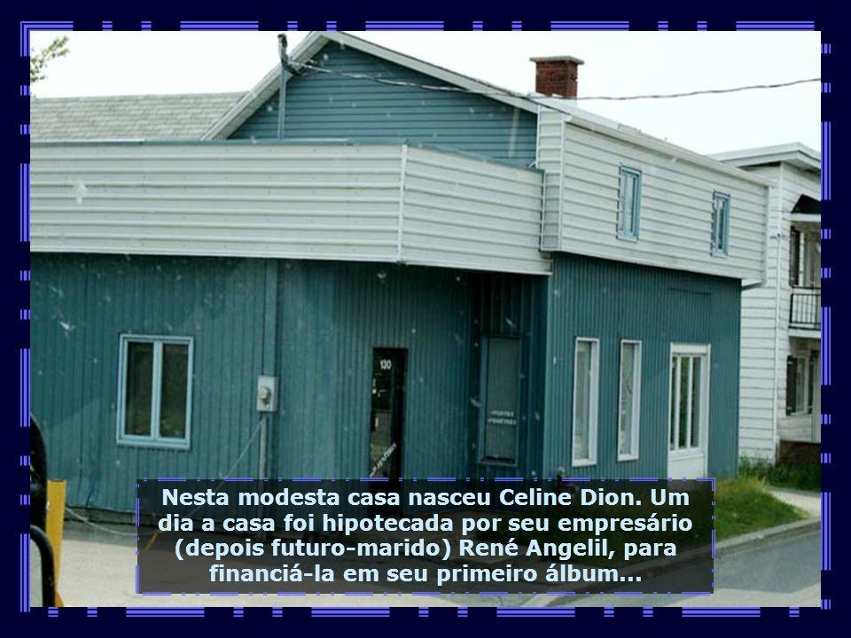 Aqui nesta pequena e agradável cidade, nasceu, em 30.03.1968, a brilhante artista internacional...