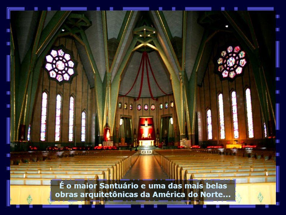 Agora vamos conhecer o belíssimo Santuário de Notre Dame Du Cap, situado às margens do Rio São Lourenço, também entre Quebec e Montreal...