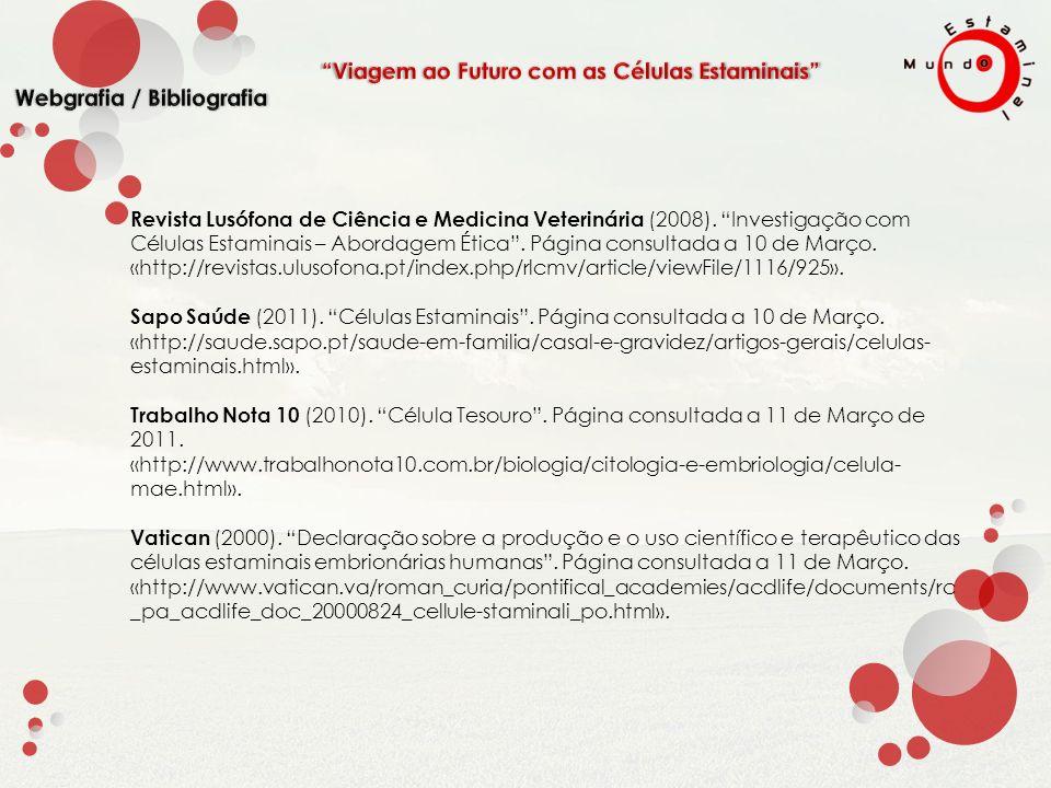 Revista Lusófona de Ciência e Medicina Veterinária (2008).