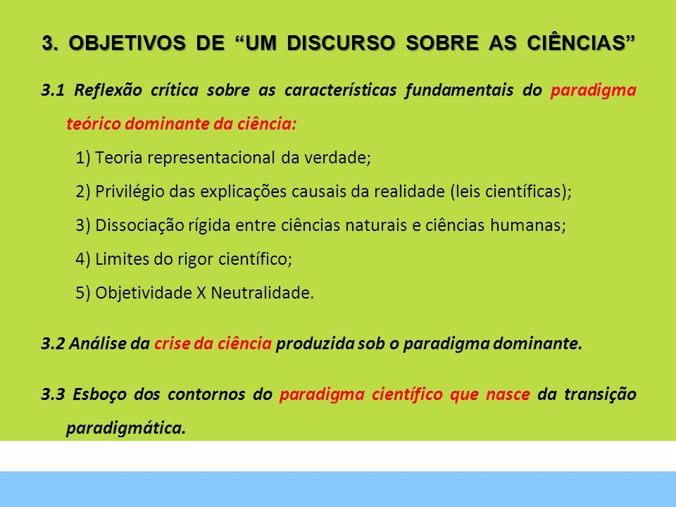 3.OBJETIVOS DE UM DISCURSO SOBRE AS CIÊNCIAS 3.4.