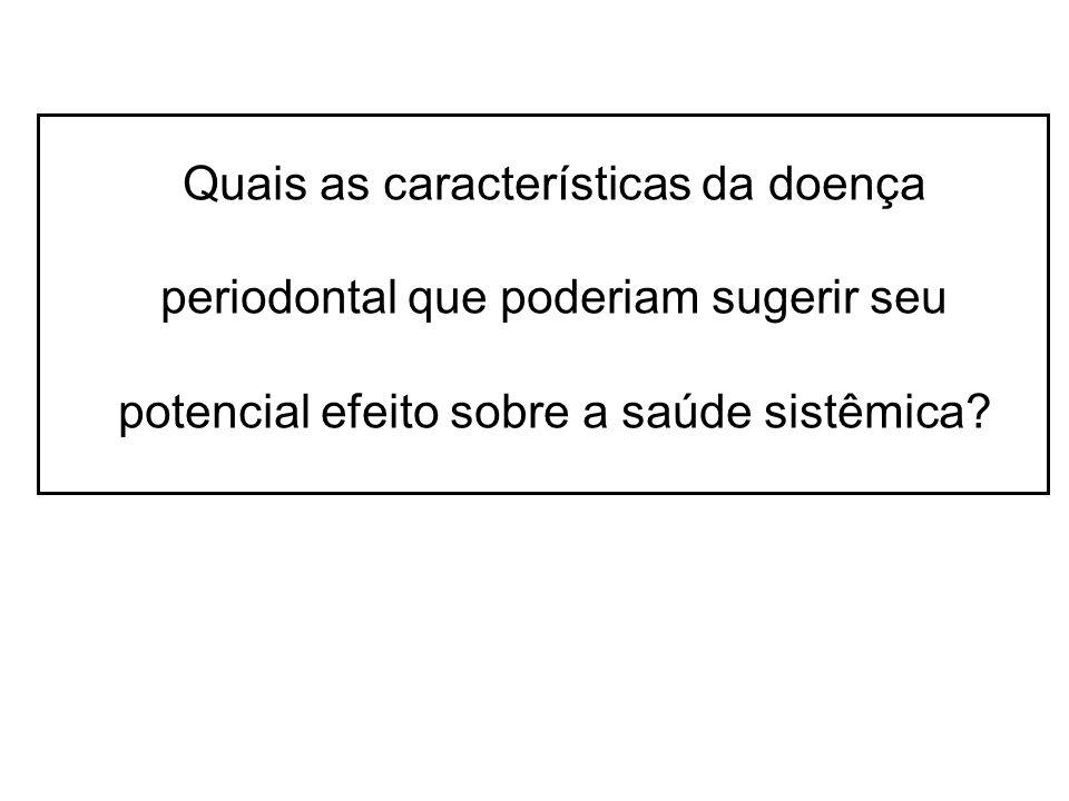 Parâmetros clínicosP.gingivalisT. denticolaT.