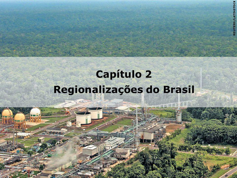 Os complexos regionais não respeitam os limites entre os Estados, por exemplo: O Norte de Minas Gerais encontra-se no Nordeste, enquanto o restante do território mineiro encontra-se no Centro-Sul.
