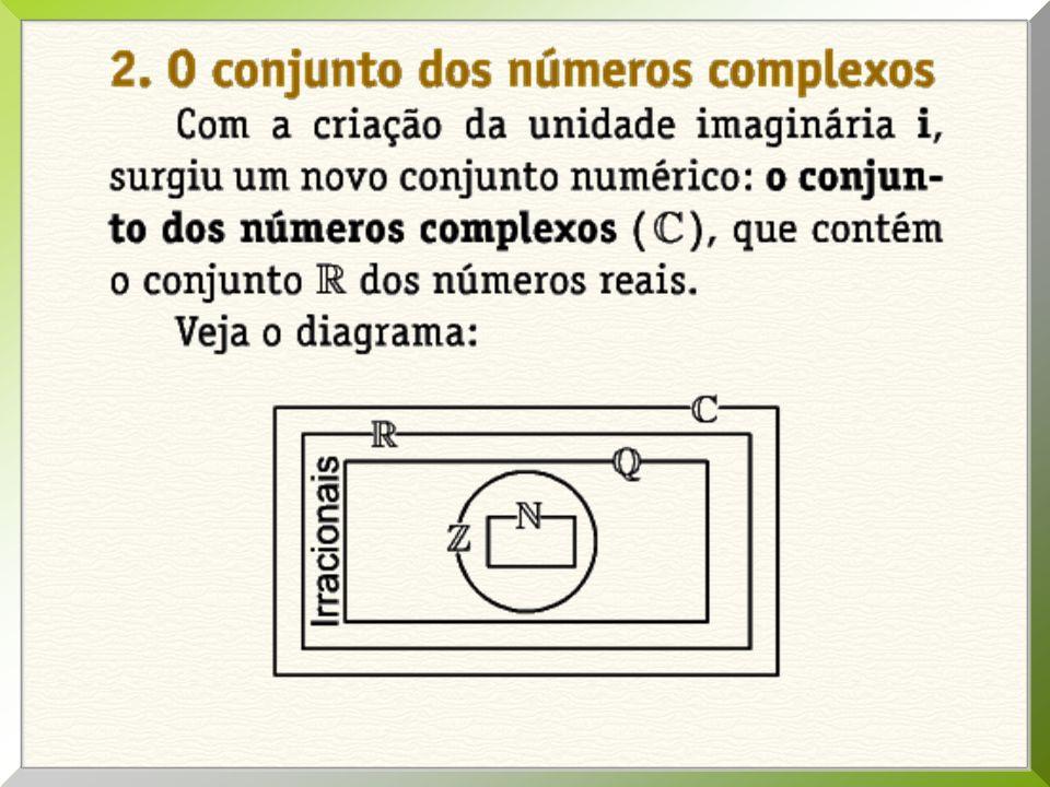 Operações com Complexos Números Complexos Potências de i CONTEÚDO DA AULA: