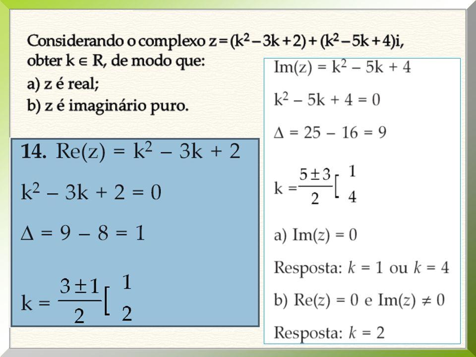 02. Resolver a equação: x 4 +2x 2 – 3 = 0. como y = x 2 vem: