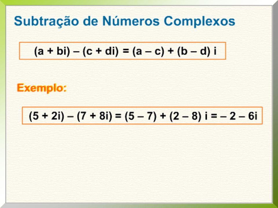 Cap.02 mód. 03 exercícios 02 – pág. 36. Se z = a + bi + 3i 2, determine a, b R pra que z = 0.