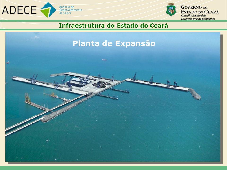 Planta de Expansão Infraestrutura do Estado do Ceará