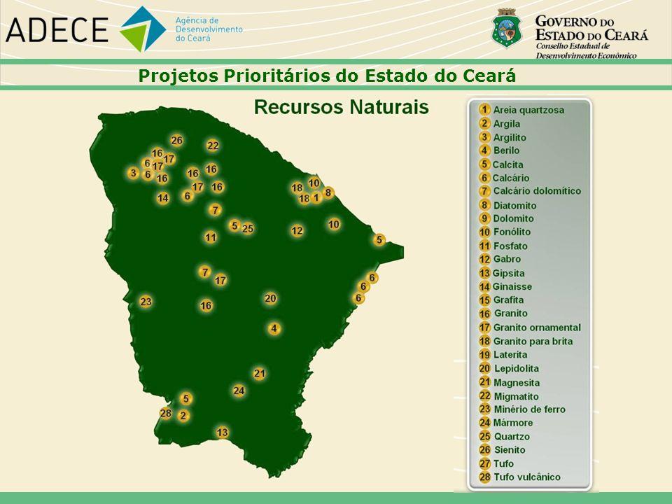 Projetos Prioritários do Estado do Ceará