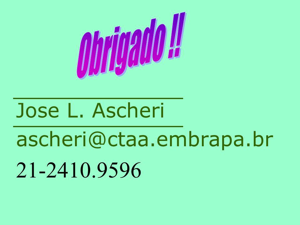 Jose L. Ascheri ascheri@ctaa.embrapa.br 21-2410.9596
