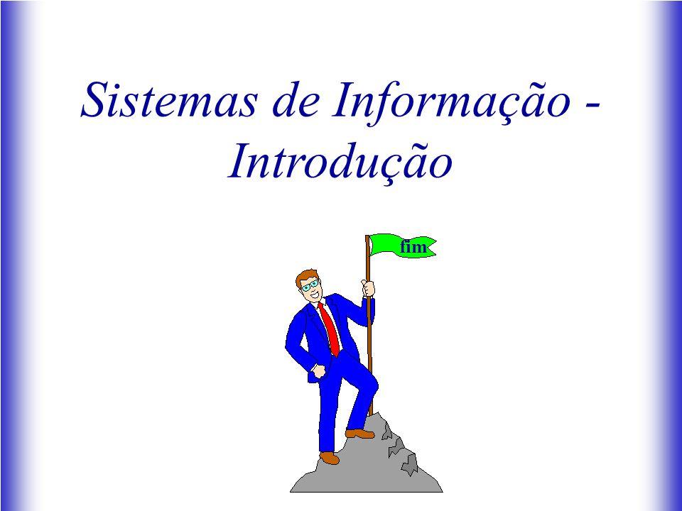 Sistemas de Informação - Introdução fim
