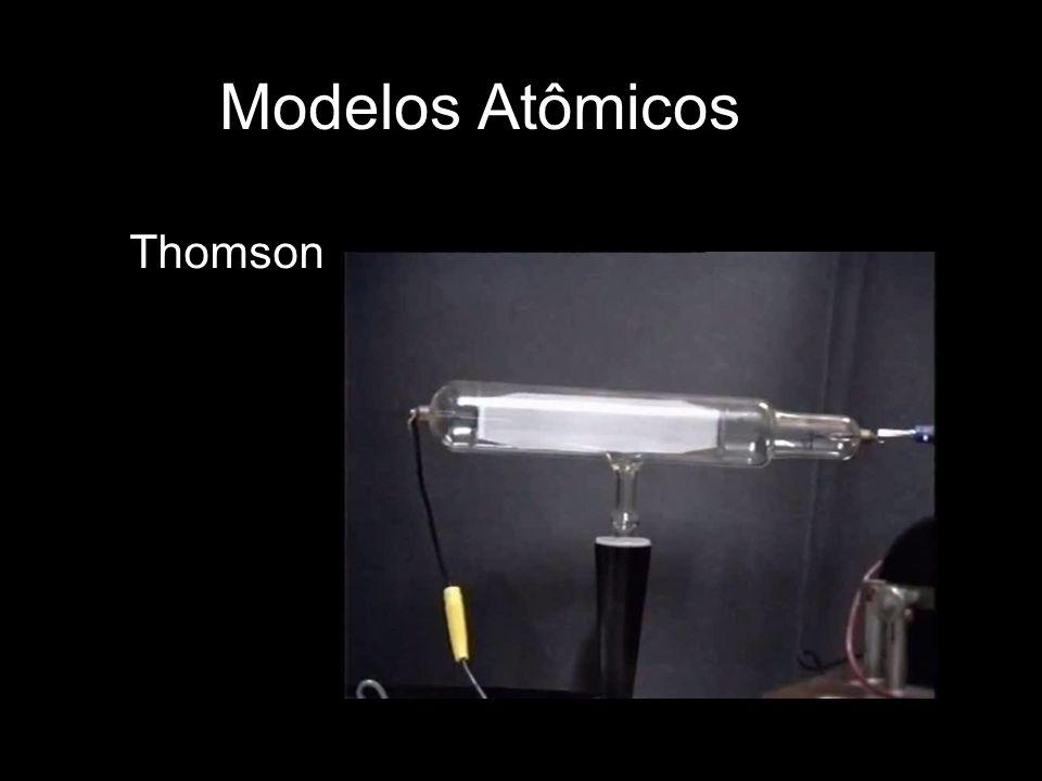 Modelos Atômicos Thomson