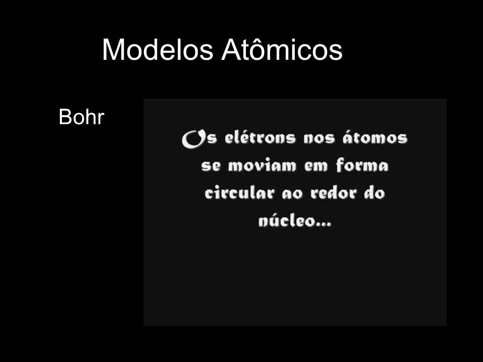 Modelos Atômicos Bohr