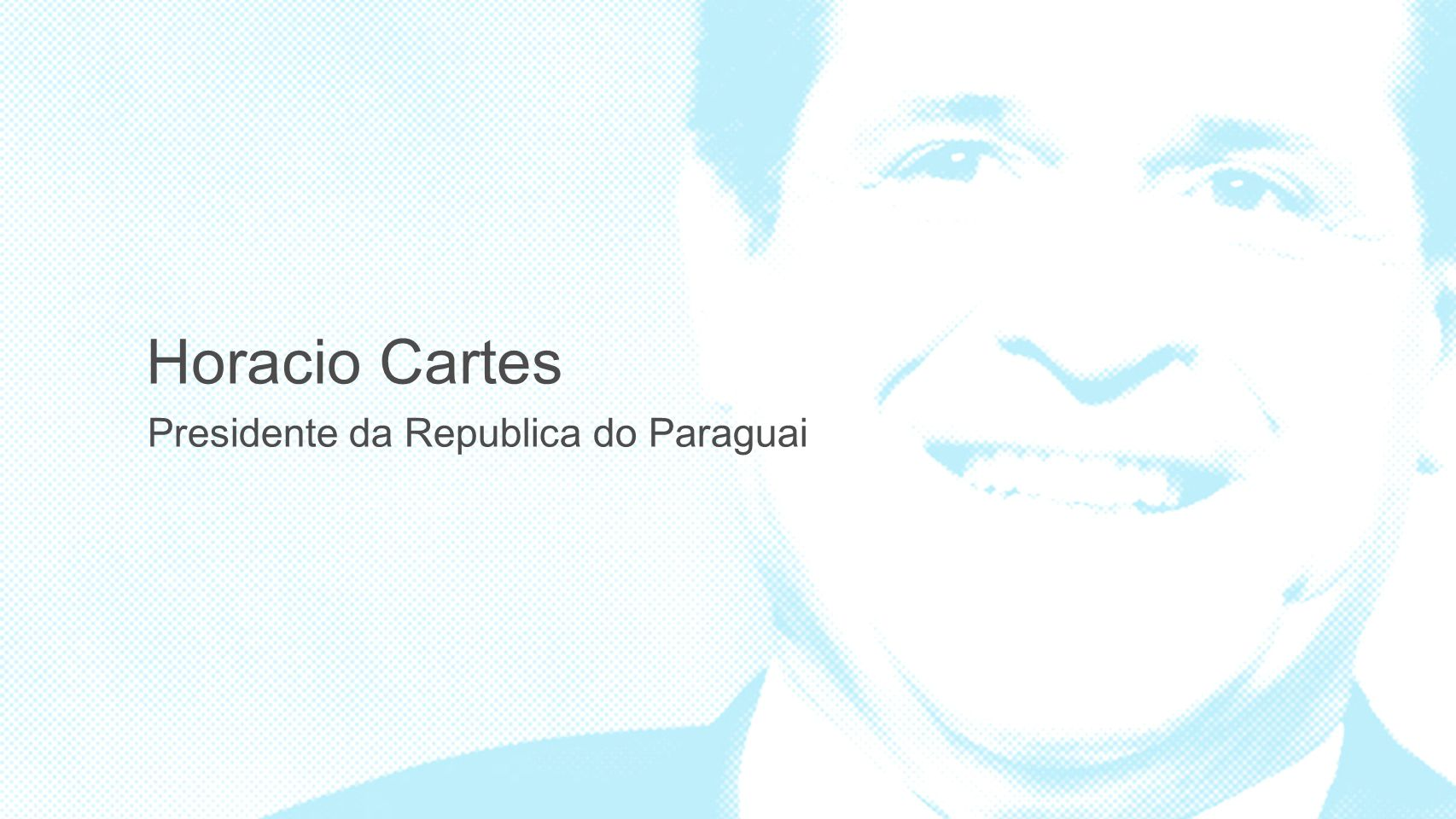 Presidente da Republica do Paraguai Horacio Cartes