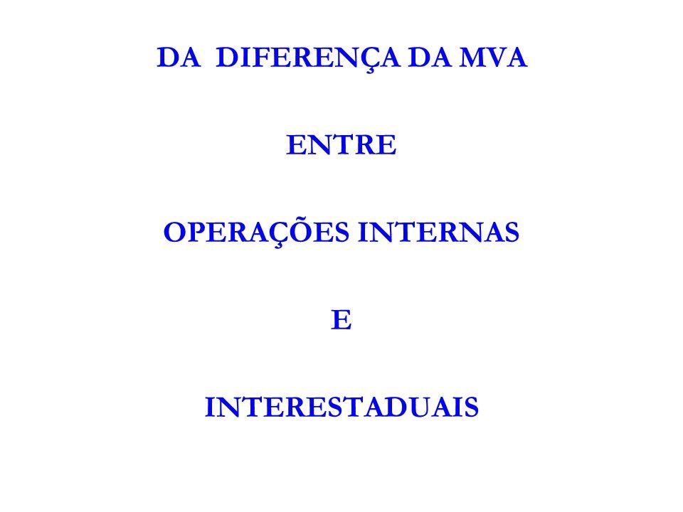 COMO CALCULAR O VALOR AJUSTADO: FORMULA: MVA ajustada = [(1+ MVA – ST original) x (1 - ALQ inter) / (1- ALQ intra)] -1, onde: I – MVA – ST original é a margem de valor agregado indicada no Anexo Único deste protocolo; II – ALQ inter é o coeficiente correspondente à alíquota interestadual aplicável à operação; III - ALQ intra é o coeficiente correspondente à alíquota interna, ou percentual de carga tributária efetiva, praticada pelo contribuinte substituto da unidade federada de destino, nas operações com as mesmas mercadorias listadas no Anexo Único.; EXEMPLO: Tinta guache= % valor original = 29,89% = 129.89% x (1- 0.12%) / (1- 0,17%) = (129,89 x 0,88)= 114,30 / 0,83% = 137,71 – 100,00 = 37,71% = valor ajustado