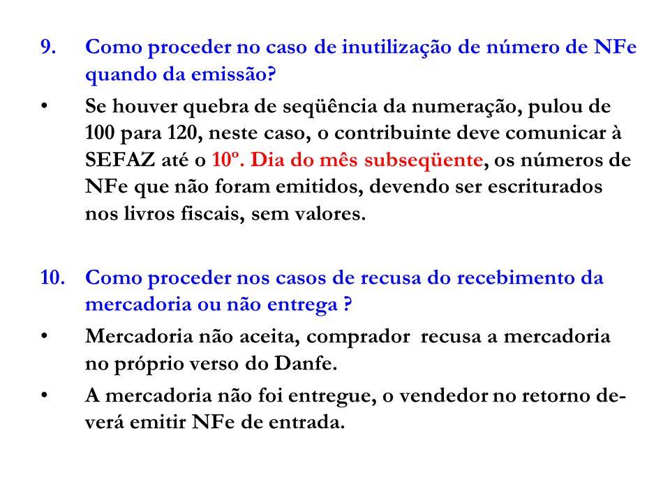 11.NFE emitida em contingência .