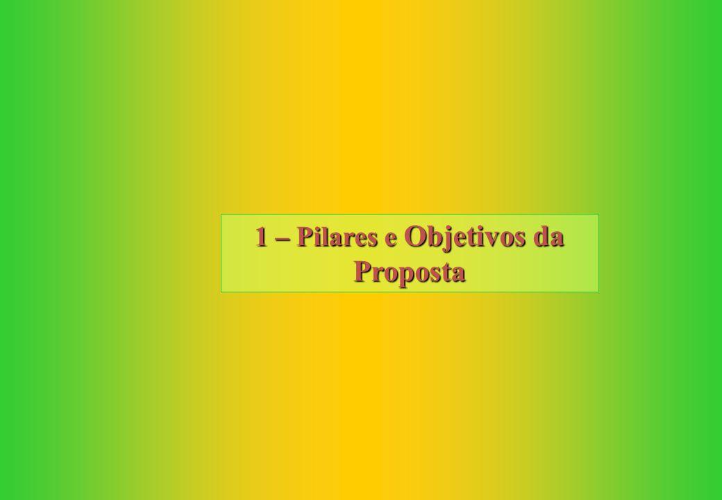 1 – Pilares e Objetivos da Proposta