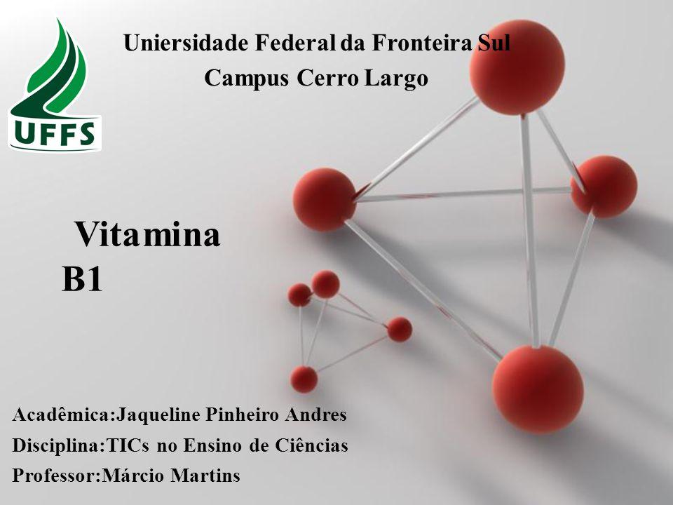 Powerpoint Templates Page 1 Powerpoint Templates Vitamina B1 Acadêmica:Jaqueline Pinheiro Andres Disciplina:TICs no Ensino de Ciências Professor:Márci