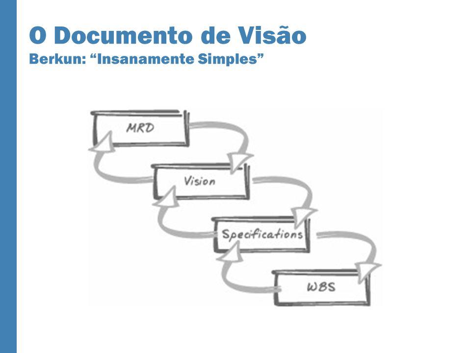 O Documento de Visão Berkun: Insanamente Simples