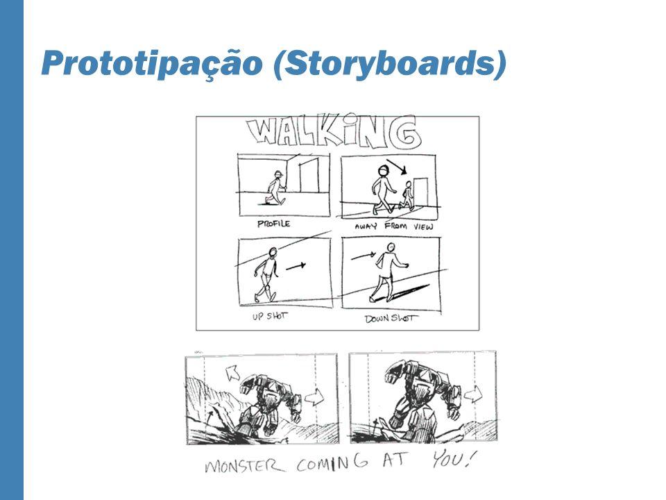 Prototipação (Storyboards)