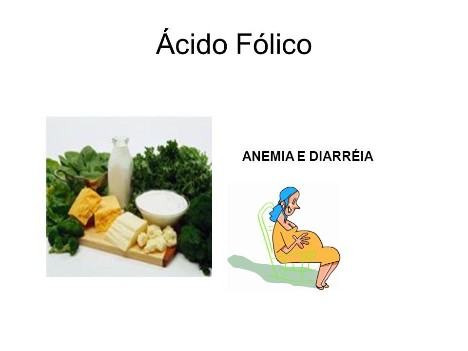 Ácido Fólico ANEMIA E DIARRÉIA