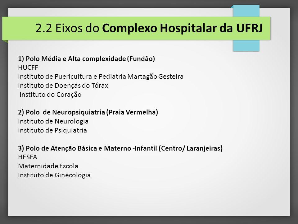 Distribuição matriz MEC (2010) O hospital mais bem pontuado por ser geral, ter leitos pediátricos, UTI, maternidade e leitos psiquiátricos, foi o Hospital São Paulo (HSP) da UNIFESP.