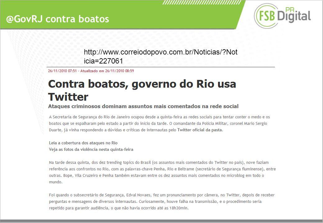 @GovRJ contra boatos http://www.correiodopovo.com.br/Noticias/ Not icia=227061