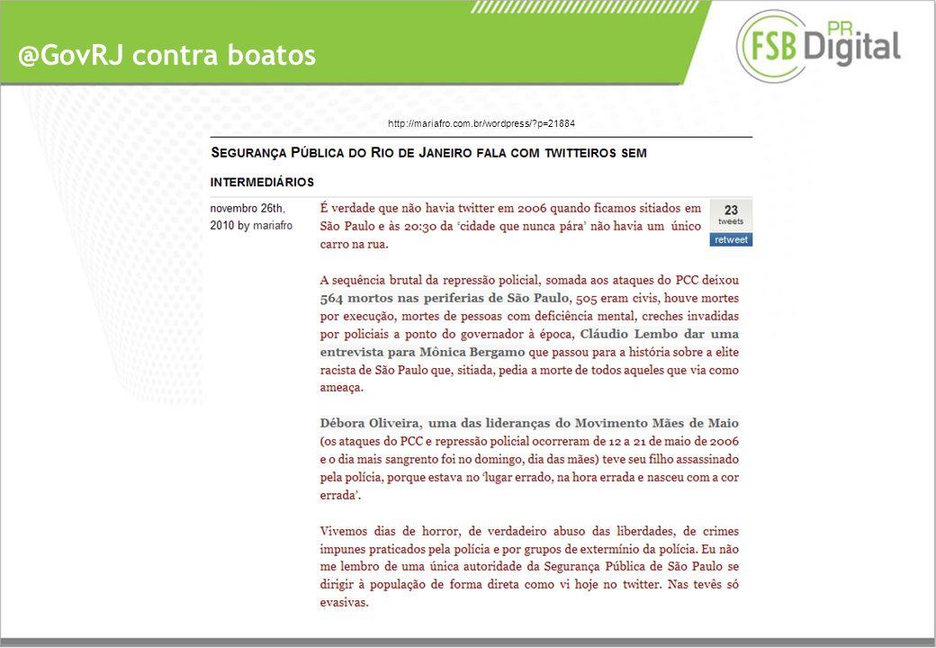@GovRJ contra boatos http://mariafro.com.br/wordpress/ p=21884