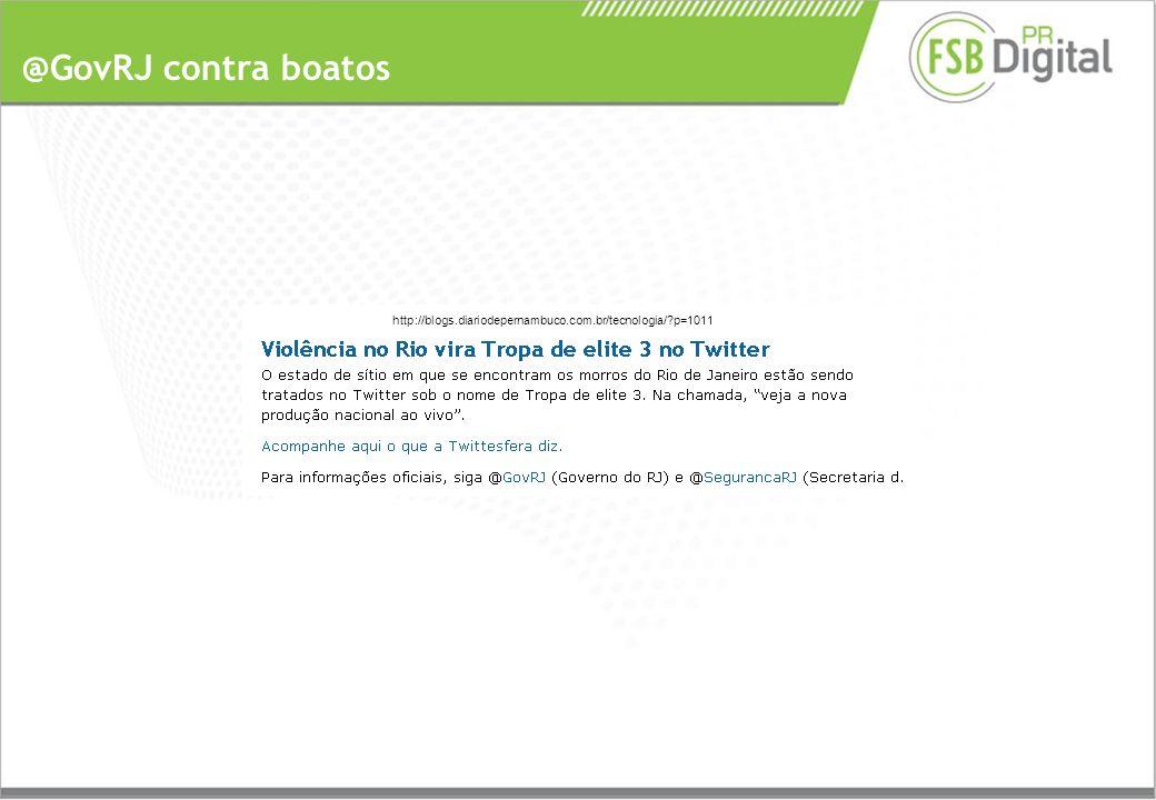 @GovRJ contra boatos http://blogs.diariodepernambuco.com.br/tecnologia/ p=1011