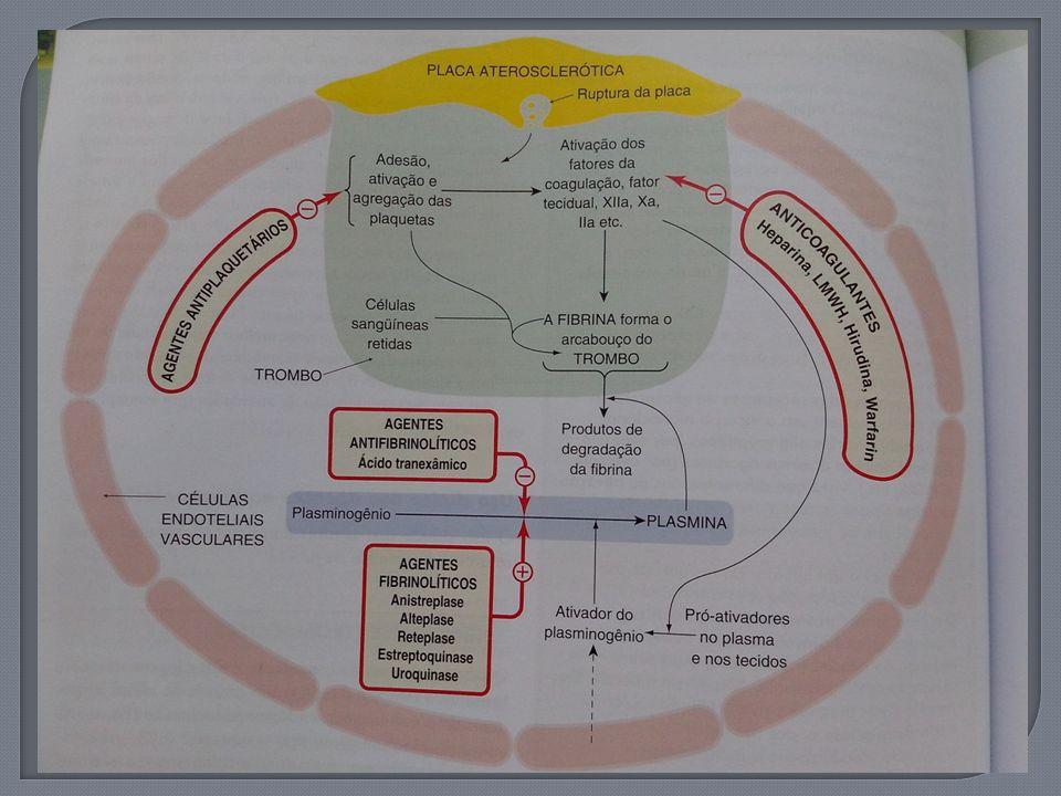 Ativam o plasminogênio em sua transformação em plasmina, que tem capacidade de degradar fibrina, o maior componente do trombo, em compostos solúveis; São fibrinolíticos;