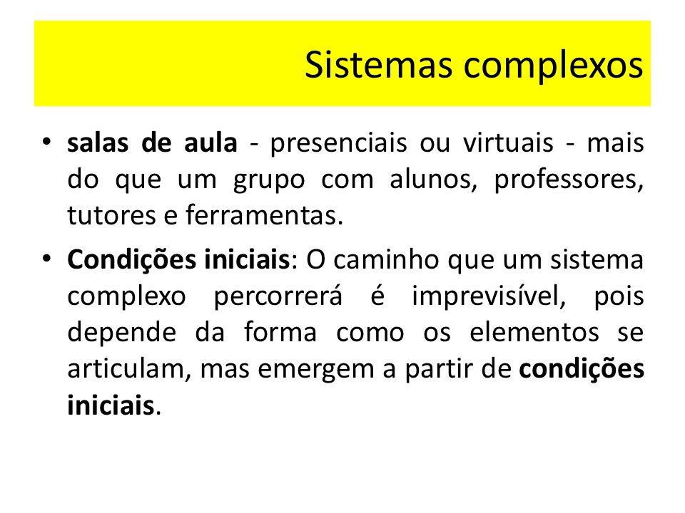 Objetivo identificar o que possivelmente tenha funcionado como condição inicial para que a aprendizagem eclodisse em uma disciplina de língua espanhola do curso de espanhol e literaturas oferecido em parceria pela UAB e a UFSM.
