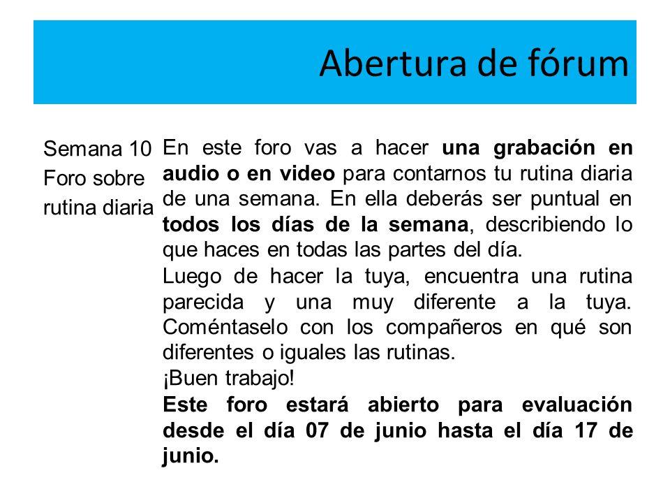 Interação Re: Foro - conociendo los secretos de la lengua española por VRF - segunda, 5 abril 2010, 10:19VRF Bienvenidos a la disciplina.