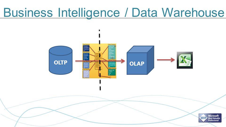 Business Intelligence / Data Warehouse OLTP OLAP ?